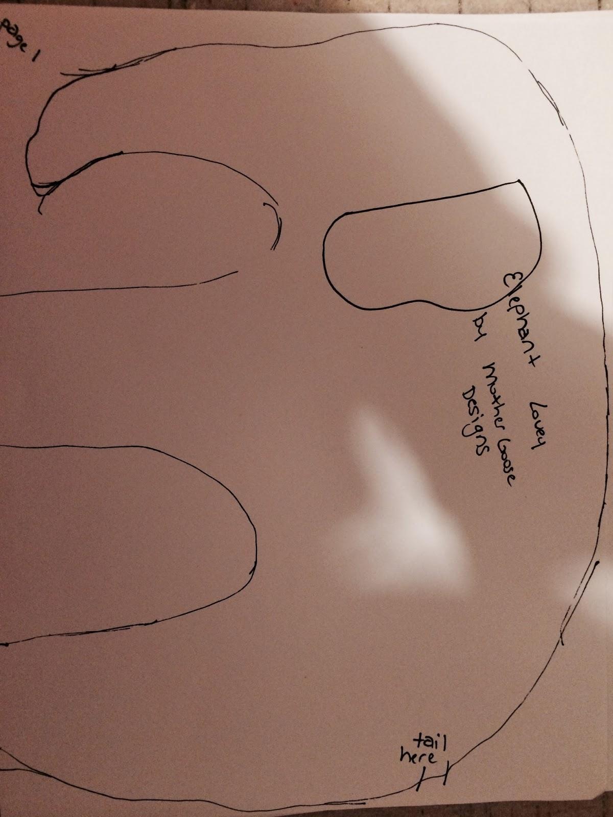 Mothergoose Designs Diy Elephant Teething Lovey